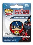 Pop! Pins Civil War Cpt America