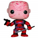 Marvel - Unmasked Deadpool Red Suit PX
