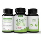 Klarity Kratom Red Bali 750MG Capsules 500CT