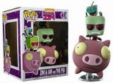 Funko Pop! Rides: Invader Zim-  Zim and Gir on The Pig