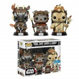 Funko Pop! Star Wars: Teebo, Chief Chirpa and Logray (Walmart Exclusive)