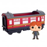 Funko POP Rides: Harry Potter- Hogwarts Express Carriage with Ron Weasley