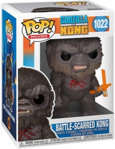 Funko Pop! Movies: Godzilla Vs Kong- Battle-Scarred Kong