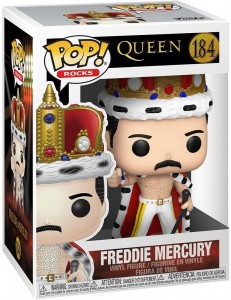 Funko Pop! Rocks: Freddie Mercury King